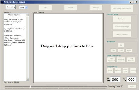 Laser Engraver Software