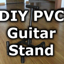 Make an Inexpensive Guitar Stand from PVC Pipe