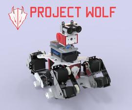 Wolf : IoT Multi-Terrain Quadruped