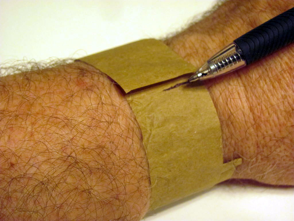 Picture of Measure Your Wrist Circumference