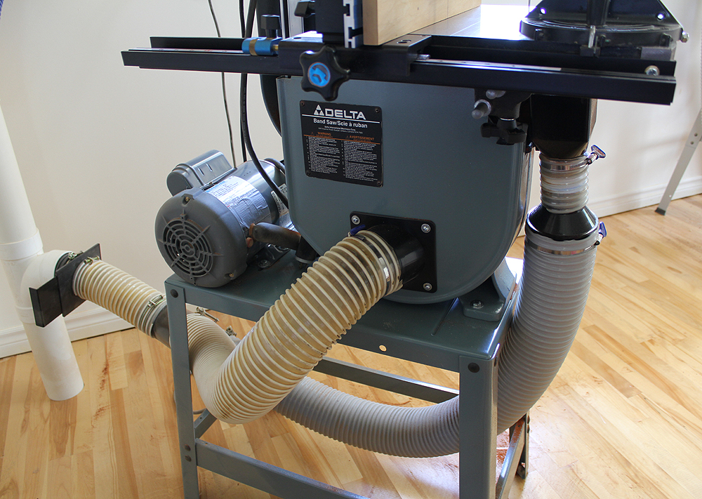 Picture of Bandsaw Dust Collection