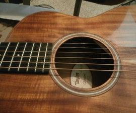 Custom Invisible Guitar Pickguard