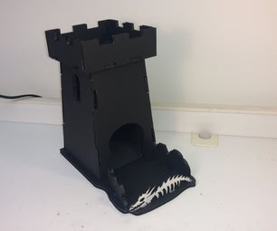 Ultra Cheap Dice Tower