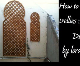how to make trellise DIY by lord