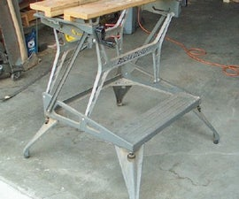 Support Bench Tools on a Workmate