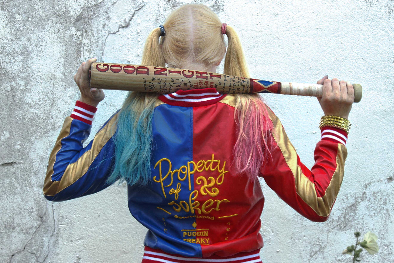 Picture of Harley Quinn Baseball Bat Pepper Mill