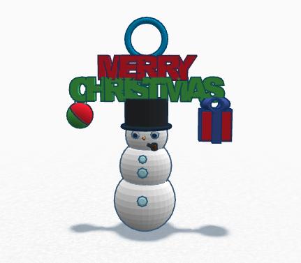 Picture of Snowman Ornament