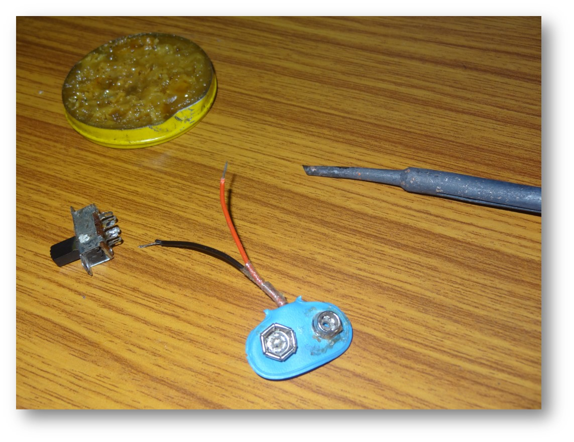 Picture of Finalizing the Components