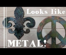How to Make Things Look Like Old Metal With Patina Paint