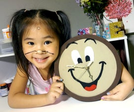 DIY Cogsworth Clock | Beauty and the Beast Crafts