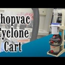 Make a Shopvac and Cyclone Shop Cart