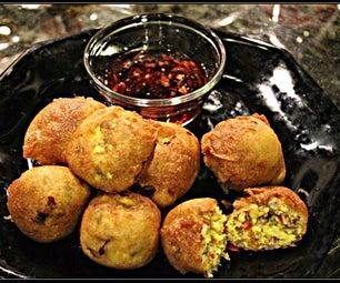 Pancake Coated Breakfast Bites
