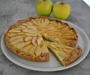 RUSTC APPLE AND RICOTTA PIE