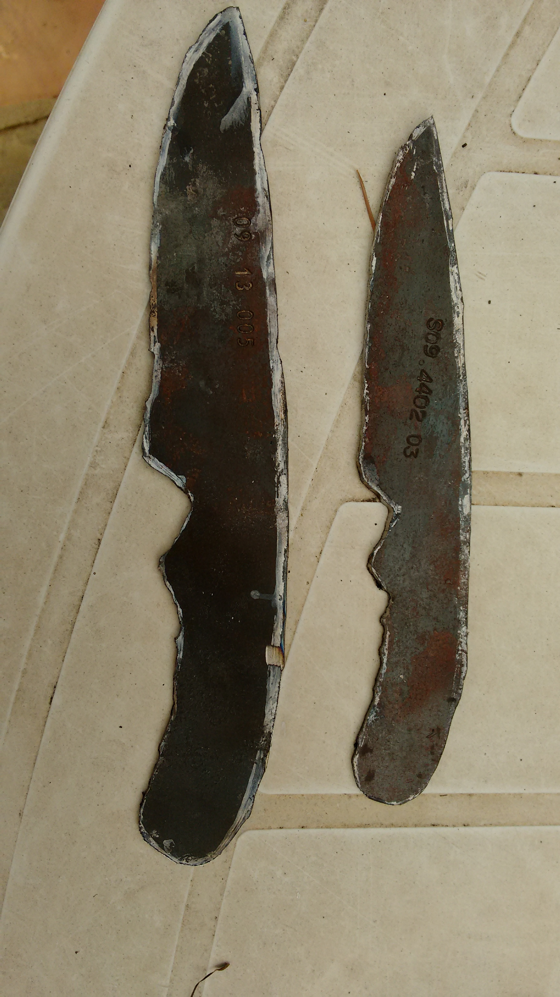 Picture of Blank Blade