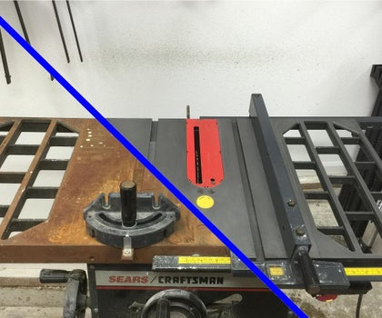 De-Rust Your Old Table Saw