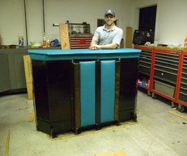 The Card Bar  -  Functional Cardboard Furniture