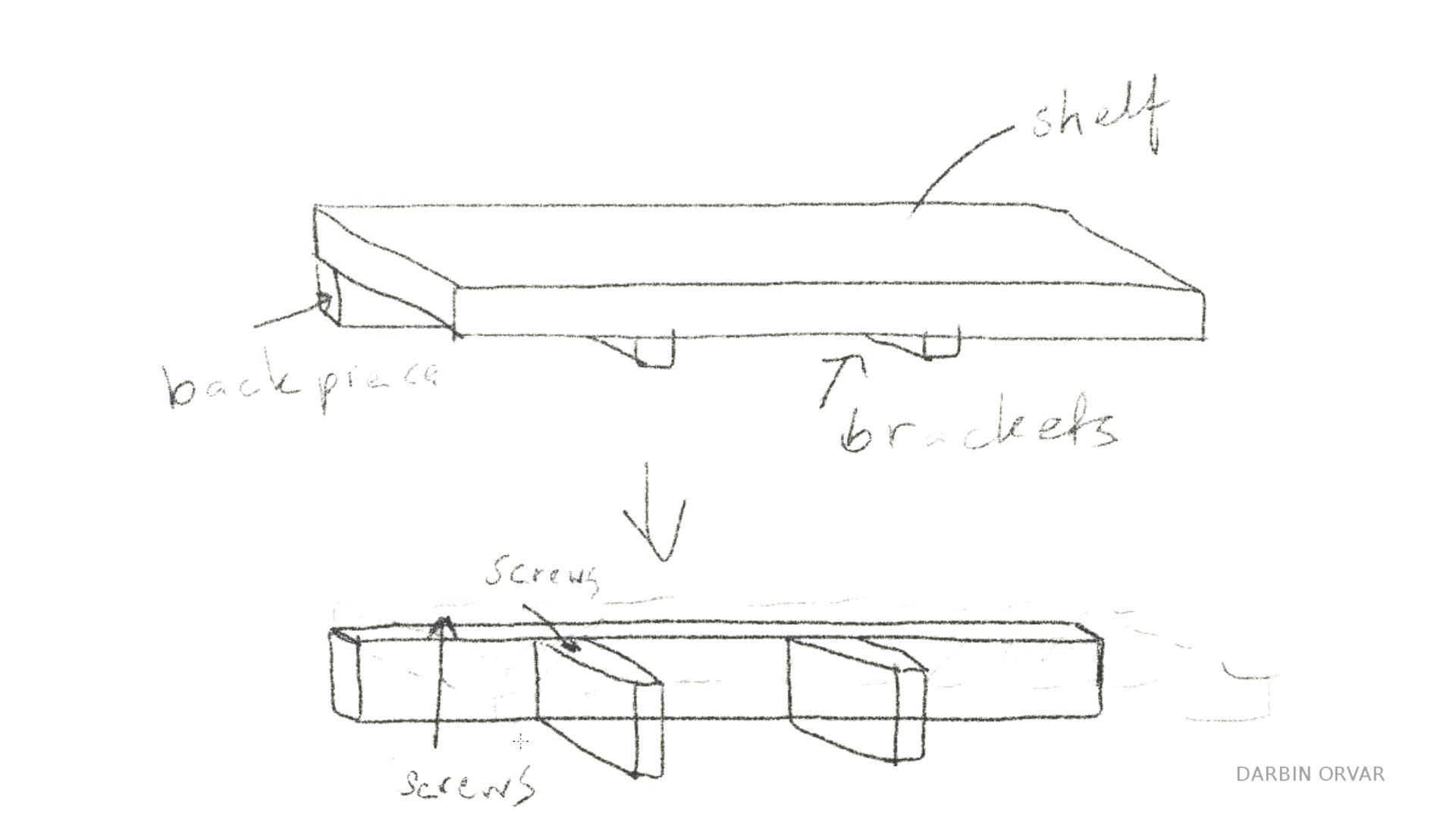 Picture of Center Speaker Shelf