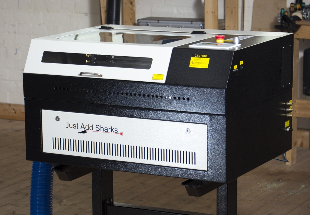 Picture of Arduino Based Etch a Sketch Laser Cutter.