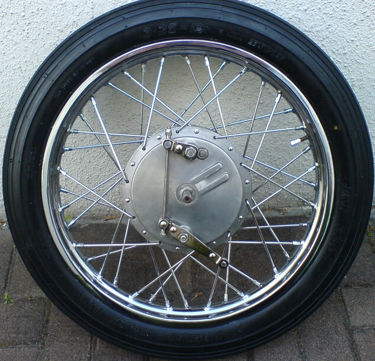 Rebuilding a Spoked Wheel for the Royal Enfield Bullet: 16 Steps