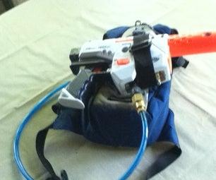 Super Soaker Water Backpack