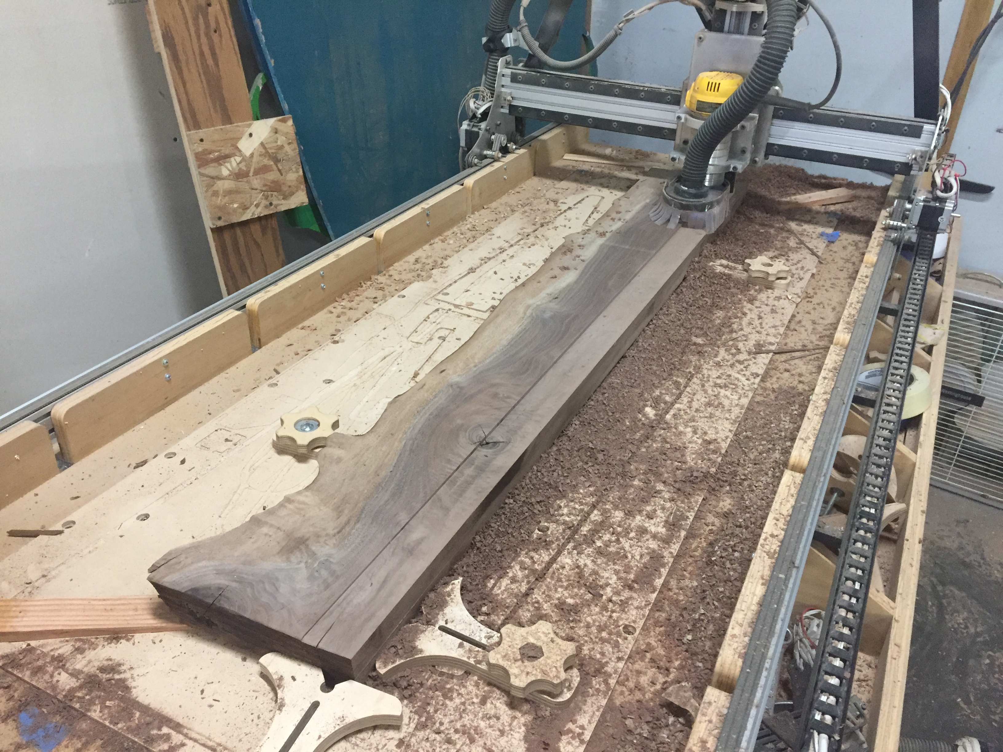 Picture of Cut Up the Slab and Flatten the Parts`