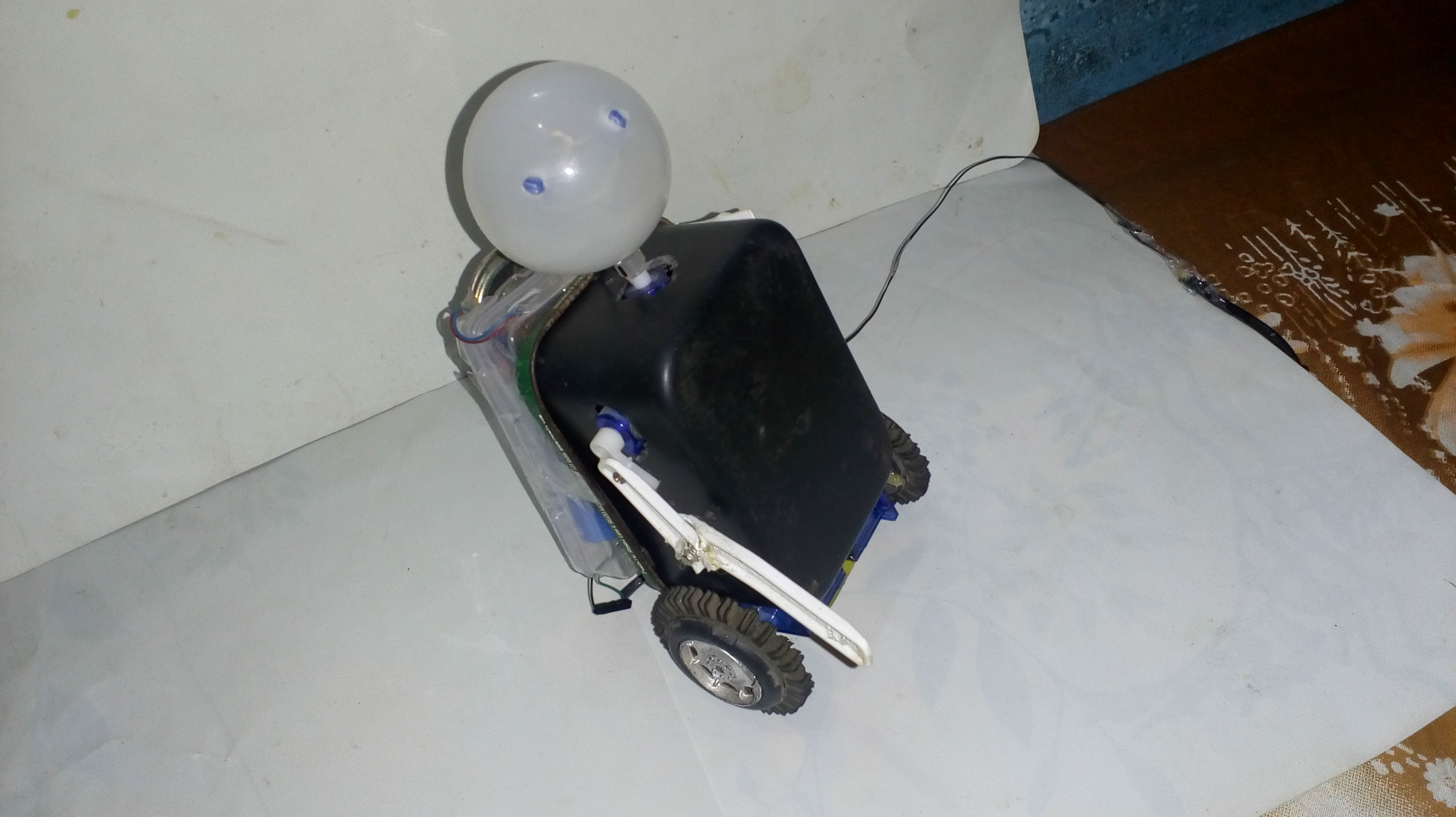 Picture of Humaniod A.I Talking Robot With Arduino
