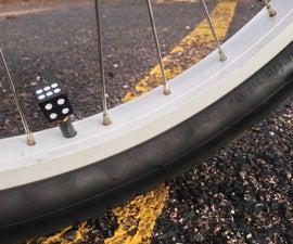 Custom Bicycle Tire Valve Caps