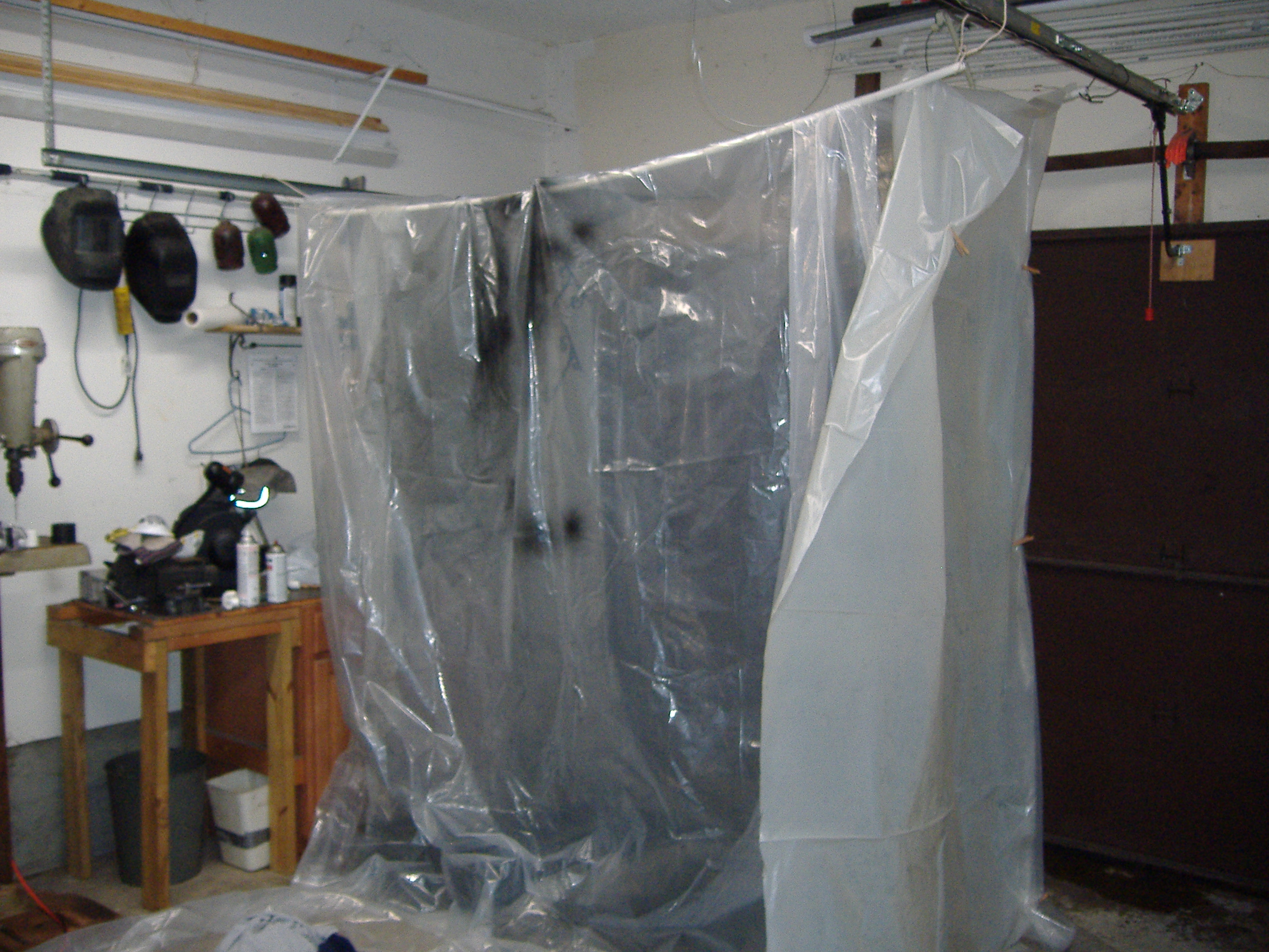 Picture of Garage Paint Booth