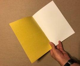 Saddle Stitch Sketchbook (Yellow)