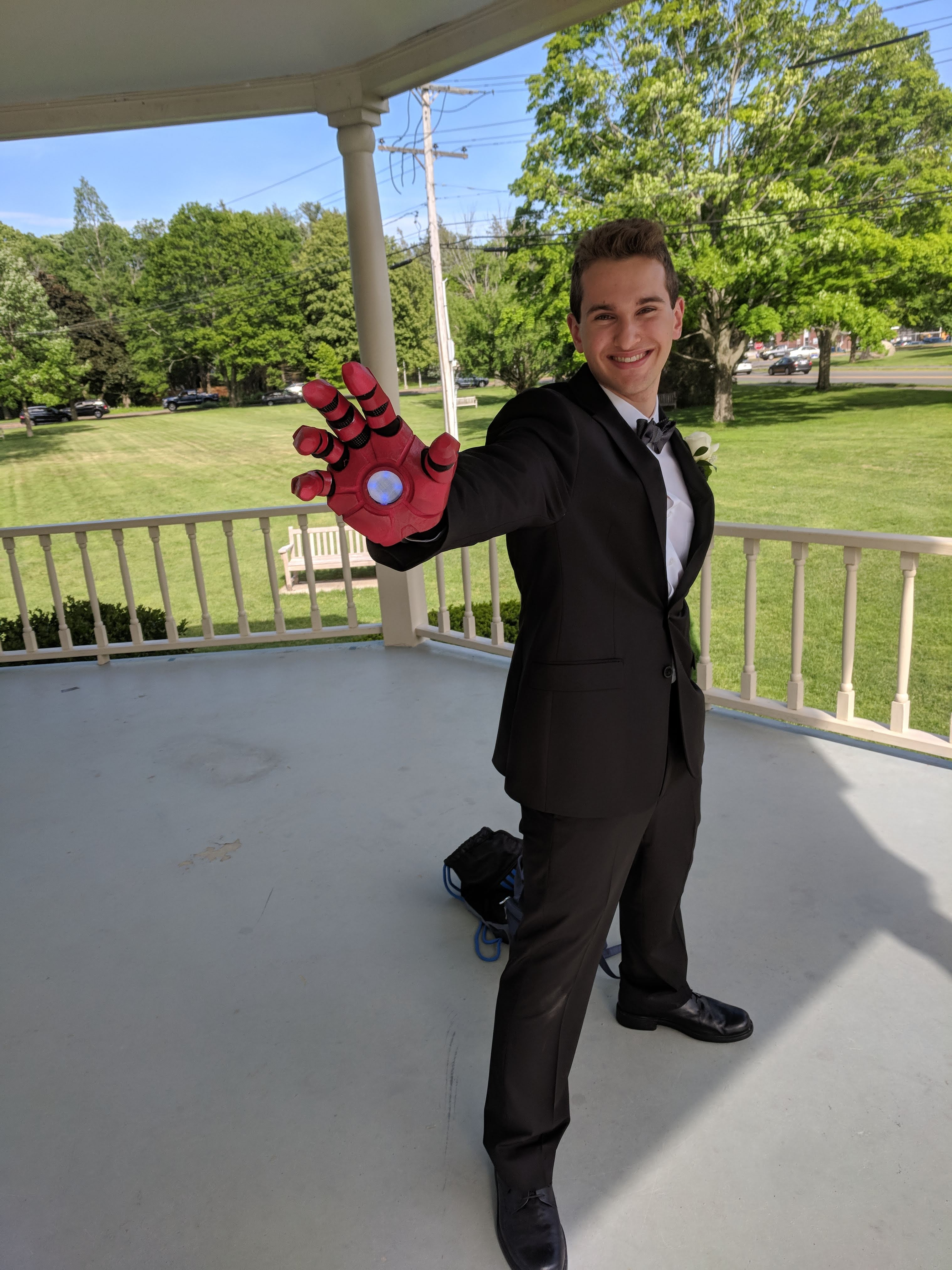 Picture of Easy 3D Printed Iron Man Glove