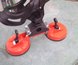 Suction Cup Fishing Rod Holder