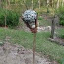New Gazing Ball Stand