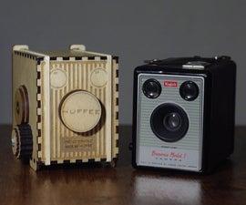 Make a Pinhole Box Camera That Uses Standard Spool Film