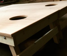 Building Better Cornhole Boards!