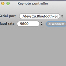 Control your keynote with arduino