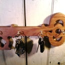 Key-Shaped Key Hanger