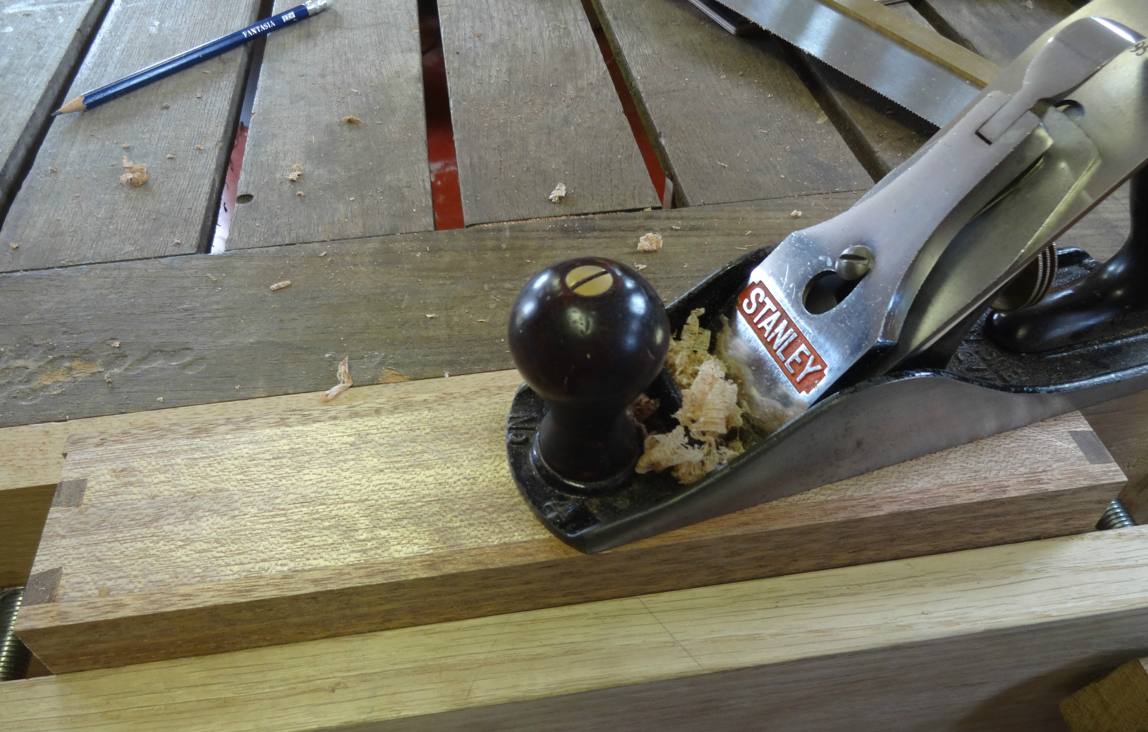 Picture of Gluing the Bottom and Making the Lid