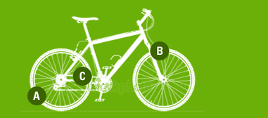 Picture of ABC : Air, Brakes, Chain