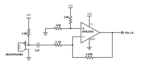 Microphone Amplifier and Speaker Driver