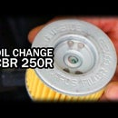How to Perform an Oil Change on a CBR250R