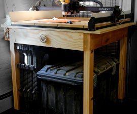 CNC Table & Storage