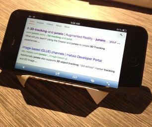 Airplane Ticket Smart Phone Holder