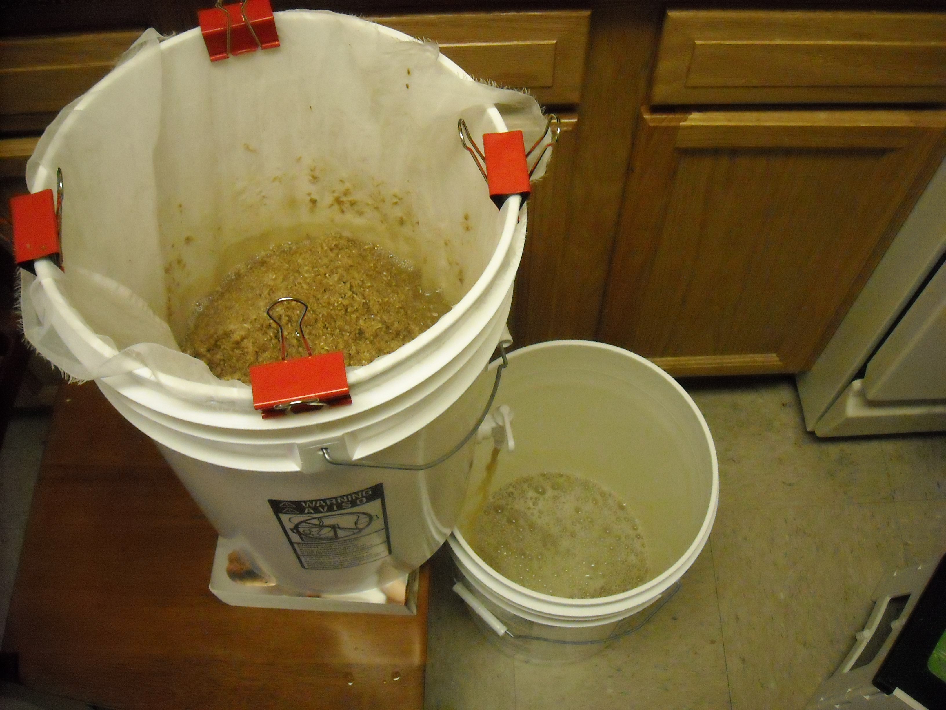 Picture of All-Grain Beer (On a Budget and in an Apartment)