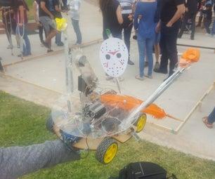 Mario Kart Balloon Robot