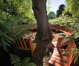 How to Make a Tree Lover's Garden Bench