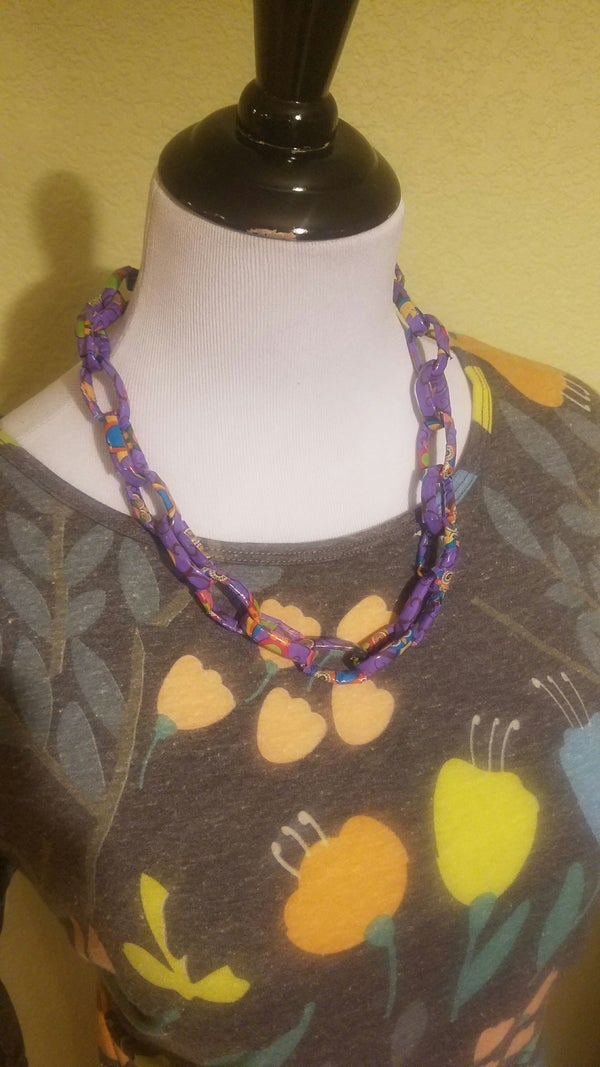 Duct Tape Necklace