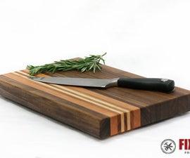Make a Cutting Board From Scrap Wood