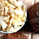 Dry Roasted Coconut Chips