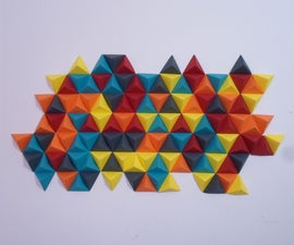 Abstract Origami Wall Decor