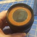 Solar Filter for DSLR Camera Lens.